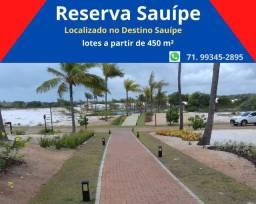Reserva Sauípe , lotes com excelentes preços, condições de pagamento facilitada