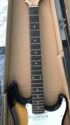 Guitarra Vogga Elétrica Stratocaster Sunburst VCG601N YS + Cabo !Aceito Cartão!