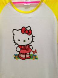 """ Camiseta Hello Kitty- Deslumbre!"