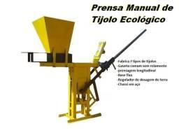 Prensa Manual de tijolo ecologico ec 125