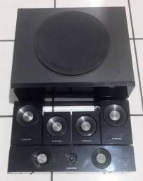 Oportunidade Caixas de som do Home Theater Samsung HT-C460/XAZ 850W rms