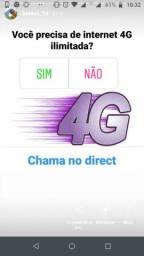 INTERNET INFINITA É AQUI COMIGO