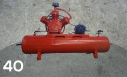Compressor 40 pés Wayne 175Lbs Revisado