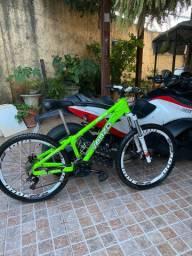 Vendo bicicleta Venzo 24 velocidades