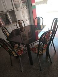 Título do anúncio: Mesa Exagonal com 6 cadeiras