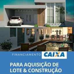 Construa sua casa financiada desde o terreno