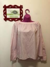 Blusa estilo ciganinha Zara Marrocos