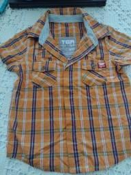 Camisas xadrez marca Tigor e Mineral