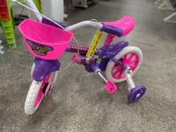 Título do anúncio: Queima de Estoque Relampago bicicleta aro 12 infantil nova para 3 anos