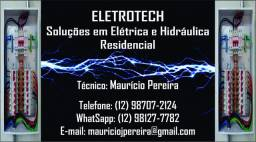 Eletrotech soluções em eletrica e hidraulica residencial