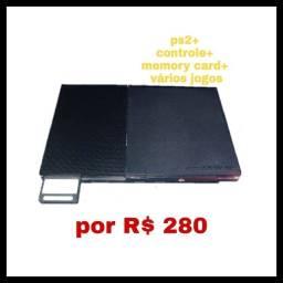 Ps2- com vários jogos + frete grátis (para o estado de São Paulo)