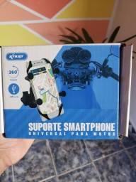 Suporte para celular para por em moto