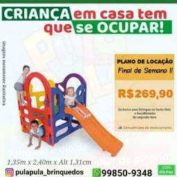 Título do anúncio: Brinquedos Playground para Final de Semana - Plano Imperdível