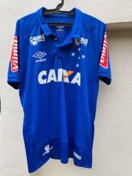 Camisa do Cruzeiro 2016 #17 - Usada em jogo!
