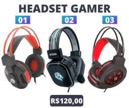 Título do anúncio: Headset Gamer com Microfone