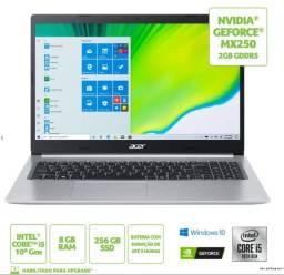 "Notebook Acer Aspire 5 A515-54G-53GP Intel Core I5 8GB 256Gb Ssd NVidiaA Mx250 15.6"""