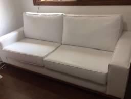 Sofá branco tokstok