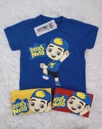 Camisas infantil no atacado 8,00