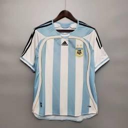 Camisa Argentina retrô