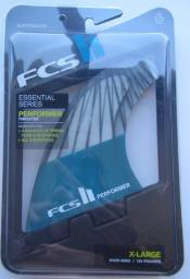 Quilhas Surf Prancha Fcs Ii 2 Performer Pc Carbon X Large