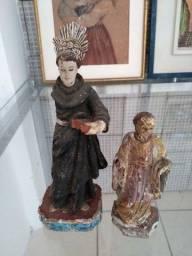 Santo Antônio madeira antigo