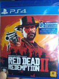 Jogos semi novo , Red dead Redemption II + god of war