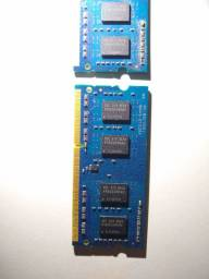 Memória Notebook DDR3 1600MHz 4GB (2x2GB)