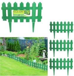 Kit 3 Cerca Plastica Decorativa Jardim novo lacrado
