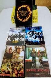 Livros e DVDs usados