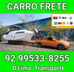 Transporte e Frete de mercadorias e passageiros