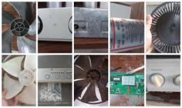 Título do anúncio: Palheta Turbina Placa Digital Termostato Motor Ventilador Ar Condicionado Acj Cartão Pix