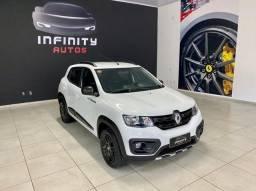 Renault/Kwid 1.0 Outsid 1.0 Completo 2021 AC/Trocas Unico Dono
