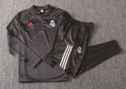 Agasalho Completo Adidas Real Madrid 2021 G