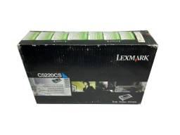 Toner Lexmark C522 / C5220CS Cyan Original Novo