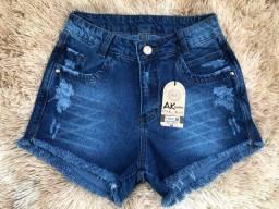 Shorts jeans (atacado)