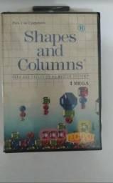 Jogo shapes and Columns para master system