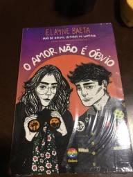 Livro O Amor não é óbvio de Elayne Baeta