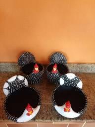 Galinha Porta Ovos ( BARRO )