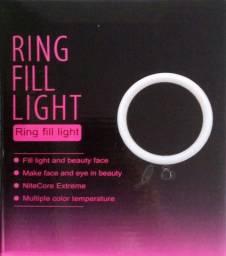Título do anúncio: Ring Light 6 Plgds/16cm com Mini Tripé de Mesa e 1 Suporte P/ Celular