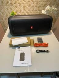 JBL PartyBox 200 Caixa de Som Portátil Bluetooth LED USB 120 Wrms Preto