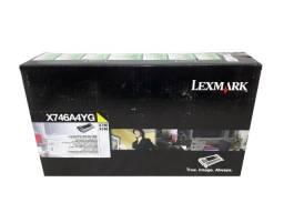 Título do anúncio: Toner Lexmark X746A4YG Yellow Original Novo