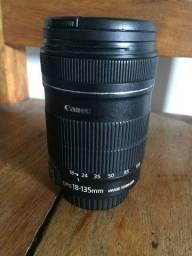 Câmera Canon 50D + lente 18-135mm EF-S + Acessórios