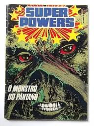 Superpowers n.6 (Monstro do Pântano - fase Alan Moore)  [DC   HQ Gibi Quadrinhos]