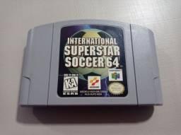 Jogo N64 - International Superstar Soccer 64