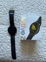 Smartwatch Galaxy Active 2 Nota e garantia