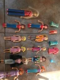 Título do anúncio: Lote de bonecas Polly Pocket + acessórios