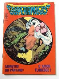 Superamigos n.34 (Monstro do Pântano - fase Alan Moore)   [DC   HQ Gibi Quadrinhos]