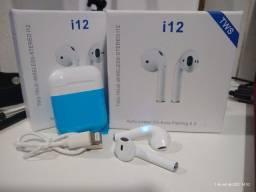 Título do anúncio: iPods i12/ fone de ouvido i12 5.0 original