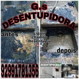 Título do anúncio: DESENTUPIDORA DESENTUPIMOS CAIXA DE GORDURA