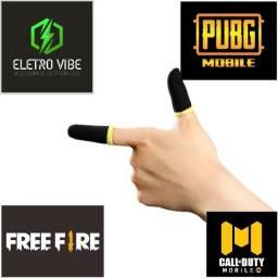 1 Par de Luva de Dedo Gamer Pubg, Free Fire & Call Of Duty Mobile